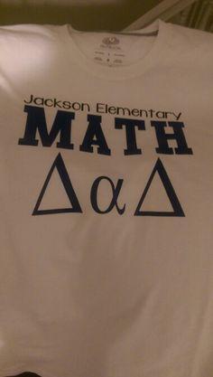 Math Dad Shirt