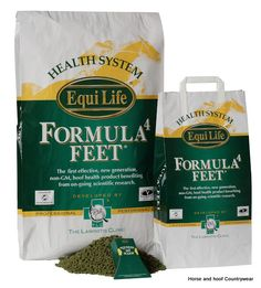 Equi Life Formula 4 Feet The leading UK hoof and laminitis supplement Developed at the Laminitis Clinic Certified non-GM Every batch cleared by the worlds leading forensic lab