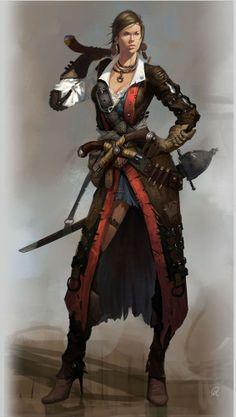 Xu Changming [ female, rogue, pirate ]