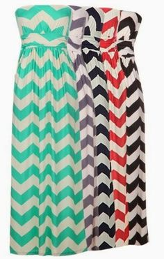 Dress: chevron print, chevron dress, mint, lavender, coral, black ...