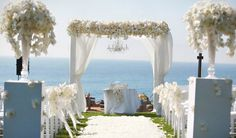 Outdoor Wedding Aisle Decorations | Mind-Blowing Aisle Decor - Belle the Magazine . The Wedding Blog For ...