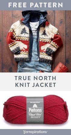 Boys Knitting Patterns Free, Baby Cardigan Knitting Pattern Free, Fair Isle Knitting Patterns, Knitting For Kids, Baby Knitting, Crochet Cardigan, Knitting Projects, Sewing Patterns, Knit Baby Sweaters