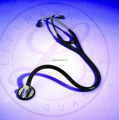 >Lit mstrcrdio blk ctd ss 27 in. 3M Littmann Master Cardiology Stethoscope