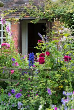An English Cottage Garden, Worcestershire.