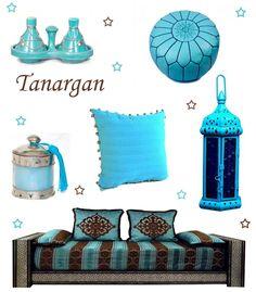 décoration-marocaine-turquoise