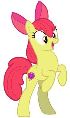 My Little Pony - Applebloom (Shocking Standing Pose) by RamseyBrony on @picsart