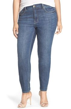 Free shipping and returns on MELISSA MCCARTHY SEVEN7 Stretch Straight Leg Jeans (Bonafide) (Plus Size) at Nordstrom.com.