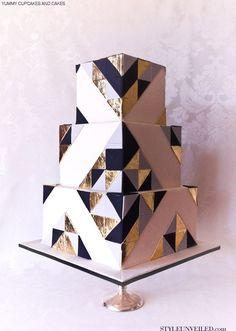 Raffle Boxes for wedding cake idea.