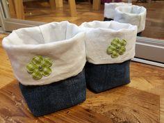 Simple jeans baskets