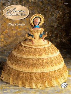 Crochet - Doll Patterns - Bed Doll Patterns - The Antebellum Collection Miss October 1991