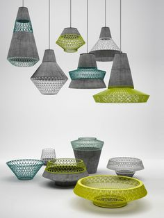 3dotscollective: Pot.pourri - Venezuelan indigenous weaving, with Europe's contemporary design