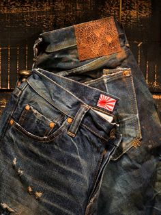 Raw Denim, Denim Jeans Men, Jeans Pants, Shorts, Rocker Look, Style Wish, Biker Style, Vintage Denim, Denim Fashion