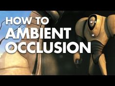 How To: Ambient Occlusion Pass In Maya Tutorial