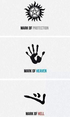 Dean Winchester- claims the mark of protection, but also yields the marks of heaven and hell