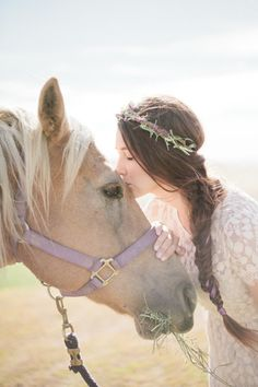 Lavender Fields Hair Wreath - Crown of Flowers & Herbs - Headband, Circlet - Wedding, Bridal, Flower Girl, Summer Festival