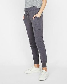 Express One Eleven Cotton Cargo Jogger Pant