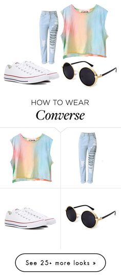 """Styx"" by bambi2014 on Polyvore featuring Converse"