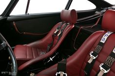 wine red RSR seats