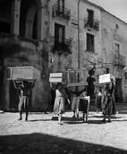 ITALY. Calabria. Town of Rogiano Gravina. 1950.