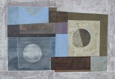"""THIS IS ONE OF THE """"UCTIO SERIES"""" OF GEOMETRIC COLLAGES STARTED IN N.Z."""