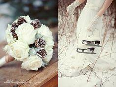 Winter wedding chic #ido #inspiration #white #wedding