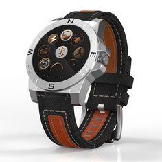 Neueste Freien Intelligente Uhren Dual System Für Android Und IOS Telefon Bluetooth 4,0 Wasserdichte N10B Pulsmesser Smartwatch //Price: $US $110.64 & FREE Shipping // #meinesmartuhrende