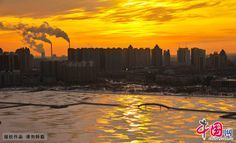 Picturesque view of Daqing in early winter - Xinhua   English.news.cn