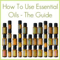 How to use essential oils!