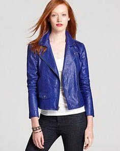 Theory Jacket - Elenian Textured Hide | Bloomingdale's