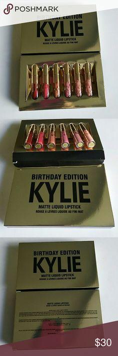 Kylie Birthday Edition Kylie Birthday Edition Matte Liquid Lipstick Makeup Lipstick