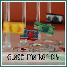 LÖwin.g: Glas Marker ... Nicht nur für die Silvester Party