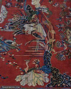 9x12 ANTIQUE ART DECO CRANE BIRD CARPET KARAGHEUSIAN TIFFANY RUG 1929  sc 1 st  Pinterest & Art Deco Custom Carpet - San Francisco Fox Theater 1930s Design ...