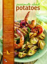 Mediterranean Grilled Idaho® Potato Salad with Seafood #MichaelKiley