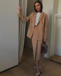 Cute Overall Outfits, Simple Outfits, Classy Outfits, Chic Outfits, Fashion Outfits, Fashion Mode, Office Fashion, Look Fashion, Girl Fashion