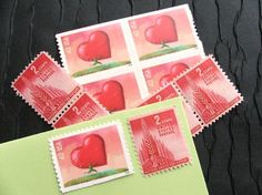 Vintage stamps and postcards for crafting with always appreciated