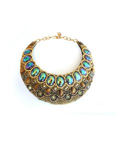 Beading Inspiration: April Soderstrom Jewelry Cleo Necklace