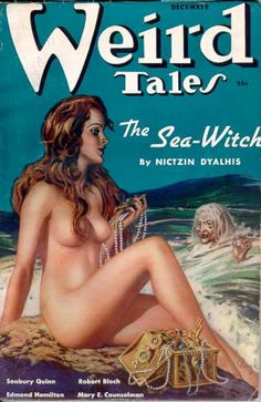 Weird Tales   -  witch