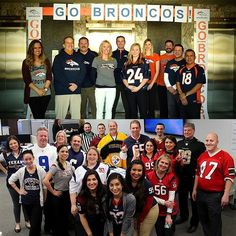 Jersey Day at the office! Our Denver team celebrated the Broncos' huge victory yesterday. Congrats!! #sb50 #superbowl #workstyle #jerseyday #officespace #officelife #football #denver #broncos