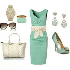 currently in love with baby blue and mint