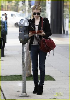 Braless Emma Roberts Shows It Is All In The Jeans In Trendy Flares