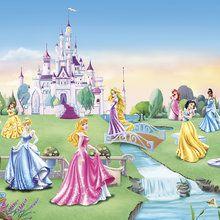 Wall mural - Princess - Castle - Children Wallpaper