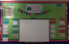 Middle School Math Rules!: Math Focus Wall Photos-Updated  Could use the space around the smart board for a board...
