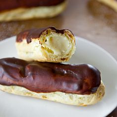 These homemade eclairs are easy and elegant!