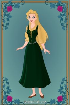 Blanche, Daughter of Quasimodo & Madeline by Victoria [©2012]