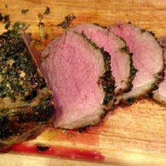 How to cook eye of round roast, a cheap cut of meat, to come out this perfect and tender
