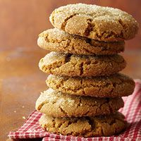 Chewy and delicious, these cookies are giants in both size and ginger flavor. Theyre perfect for a child's lunch sack.