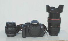 Canon 650D  lens Canon 50mm F1.4  lens 24-105mm F1.4L IS USM