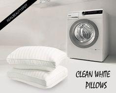 Wash Your Pillows in Washing Machine