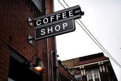 coffee, shop, and brown image
