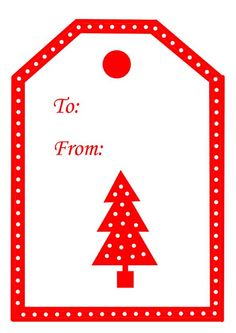 paperie crafts: Free Printable Christmas Tags